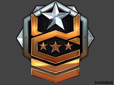 High tier rank icon for War Commander