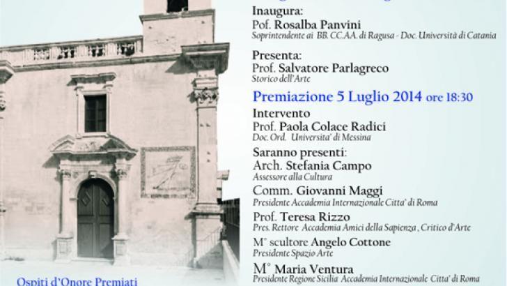 """Premio Internazionale """"Barocco"""" a Ragusa Ibla"""
