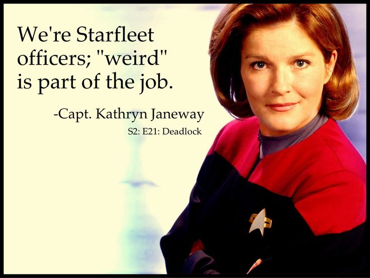 You can say that again. Scariest episode of voyager I've every seen : cathexis. Weird and terrifying
