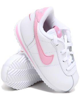 kids pink nike cortez shoes