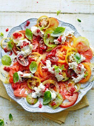 Tomato carpaccio | Jamie Oliver
