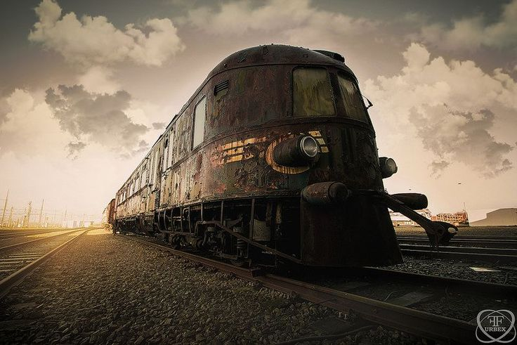 Known to urban explorers in Belgium as the abandoned Orient Express train, this rusting locomotive and plush carriages were once at the forefront of luxury.