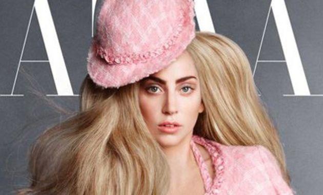 Lady Gaga in pink