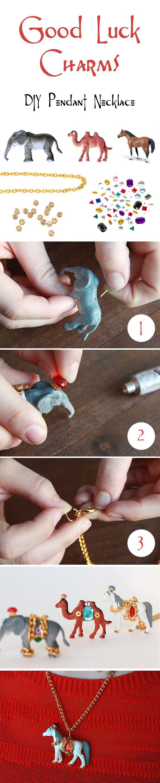 DIY animal pendant