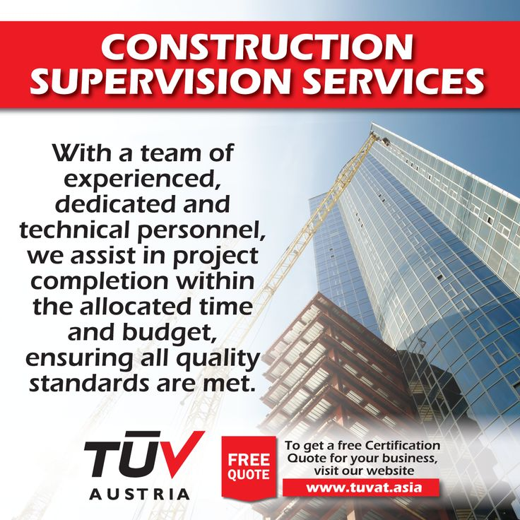 TUV Austria Construction Supervision Services. No compromise on Quality and safety. For further queries visit: tuvat.asia/get-a-quote, or call Pakistan: (Lahore) +92(42)111-284-284 | Pakistan: (Karachi) +92(21)111-284-284 | Pakistan: (Islamabad) +92(51)2362980 | Bangladesh: +880(2)8836404 to speak with a representative. #ISO #TUV #certification #inspection #pakistan #bangladesh #lahore #karachi #dhaka #construction #leea #ISO #TUV #certification #inspection #pakistan #bangladesh #lahore…