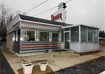 historic plainfield indiana photos--the Diner on Rt 40. After dance recitals. Now the Oasis Diner still waiting for it to open but it is coming along fast!