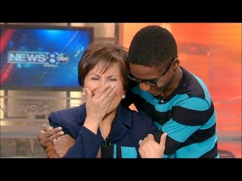 When News 8's Gloria Campos refused to give up on Ke'onte Cook 6 years ago, she could have only hoped his life would turn out as beautiful as it has. | Watch This News Anchor's Reaction When An Orphaned Boy She Helped Get Adopted Shows Up To Thank Her