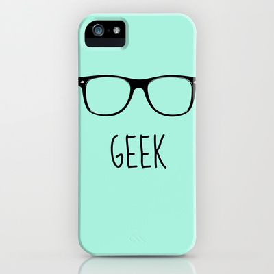 GEEK IN MINT iPhone & iPod Case by colorstudio - $35.00