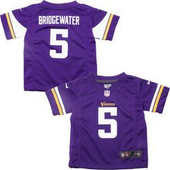 Kids Teddy Bridgewater Minnesota Vikings Purple Nike Jersey (4-7)