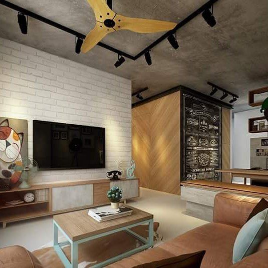 #Scandustrial concept by #Skycreationasia  Login to http://ift.tt/1OqegtL and get free interior design plans from various interior designers and save your trouble from visiting dozen of interior films.  #interiordesign #livingroom #renovation #cosy #home #sghomes #idsg #housedecor #renopedia #hdb #homestyling #furniture #furnishing #bedroom #instagood #photooftheday #tagsforlikes #minimal #instadaily #webstagram #instacool #picoftheday #followme #follow #archidaily #beautiful #design…