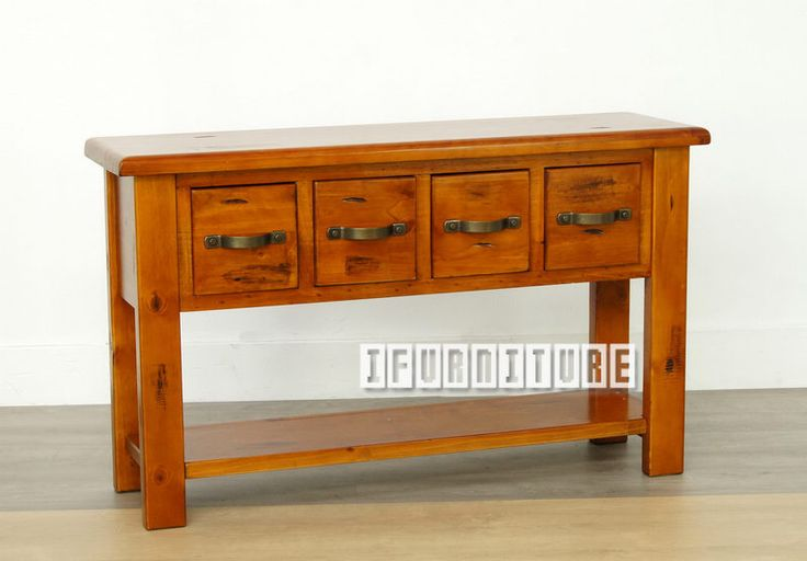 CLASSICAL RUSTIC Solid Pine Hall Table , Living Room, NZ's Largest Furniture Range with Guaranteed Lowest Prices: Bedroom Furniture, Sofa, Couch, Lounge suite, Dining Table and Chairs, Office, Commercial & Hospitality Furniturte