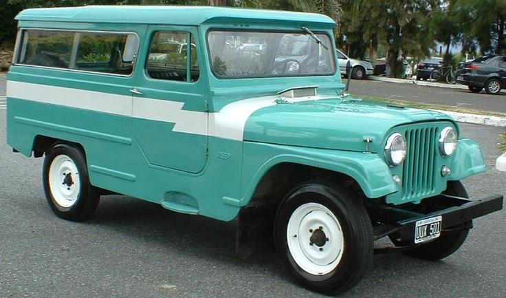 Jeep IKA JA-2P 1969 dos puertas largo carrozado. Motor continental 2.5 4 cilíndros. Impecable estado y originalidad. De origen y sin reformas. Carrozado por IKA.  http://www.arcar.org/jeep-ika-ja-2p-1969-53997