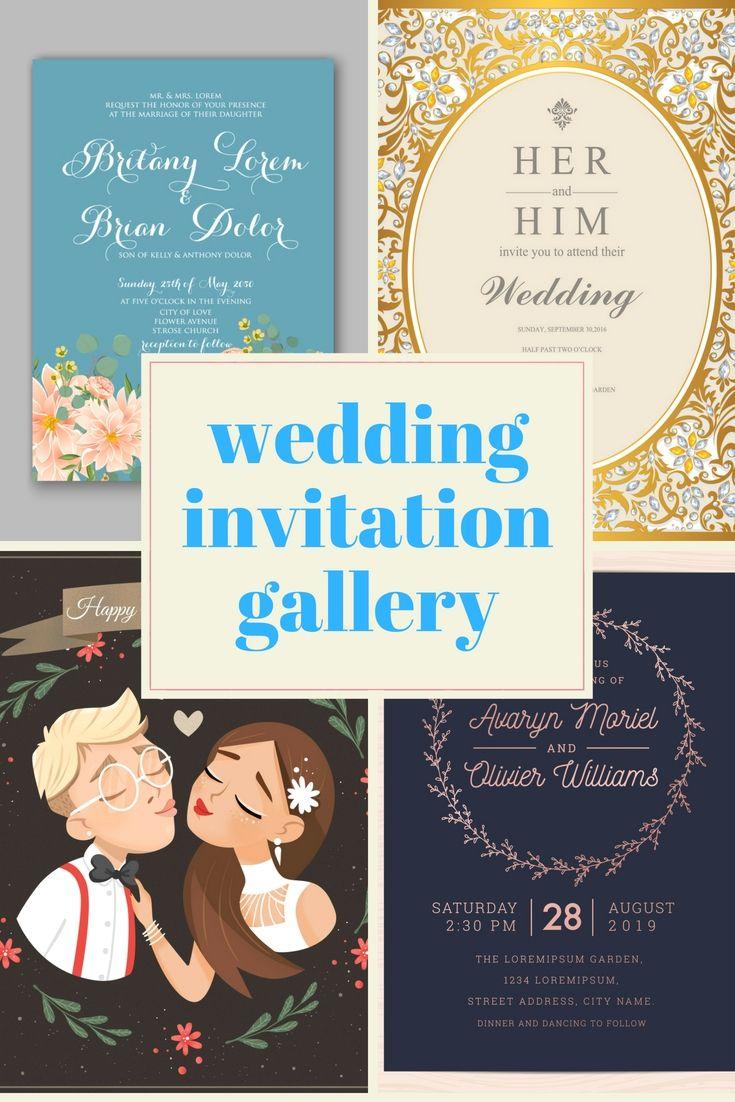 Cost Free Wedding Invitation Cards Examples Start Preparing For Your Wedding Wedding Invitations Examples Wedding Invitations Wedding Celebration Invitation