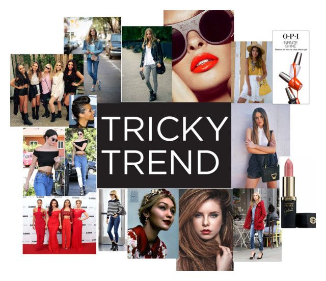 """""""TRICKY TREND"""" by fashioncopasser ❤ liked on Polyvore"""