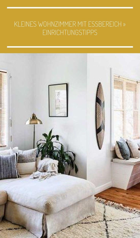 Kleines Wohnzimmer Mit Essbere In 2020 Motif Design Lovely Colors Home Decor