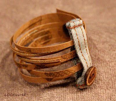 LOCKwerkE: Snap Pap Armband