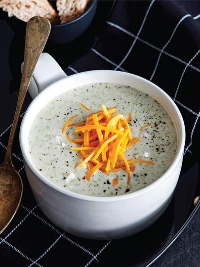 Peynirli brokoli çorbası Tarifi - Türk Mutfağı Yemekleri - Yemek Tarifleri