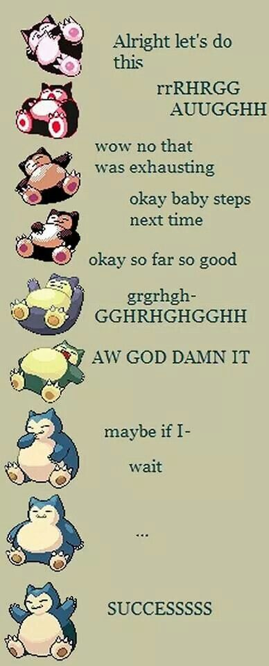 The Tale of the Snorlax Who Sat Up