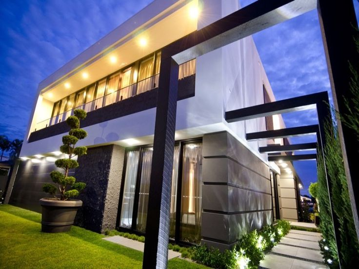 Modern outdoor infused with - Facade - Oneflare