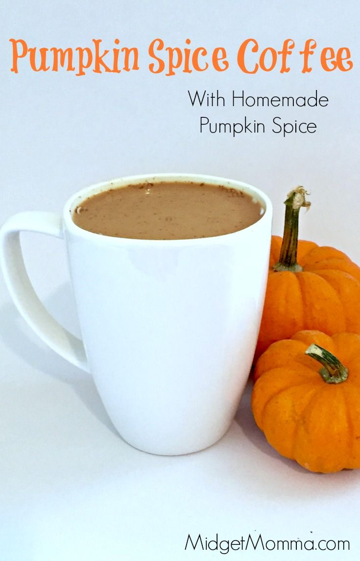 Pumpkin Spice Coffee. Made with homemade pumpkin spice mix, this pumpkin spice…