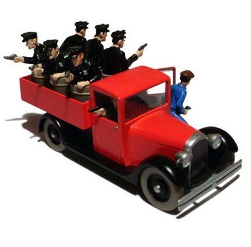 29041 / 2118041 - Camion de police de Chicago / de vrachtwagen van de politie - Kuifje in Amerika