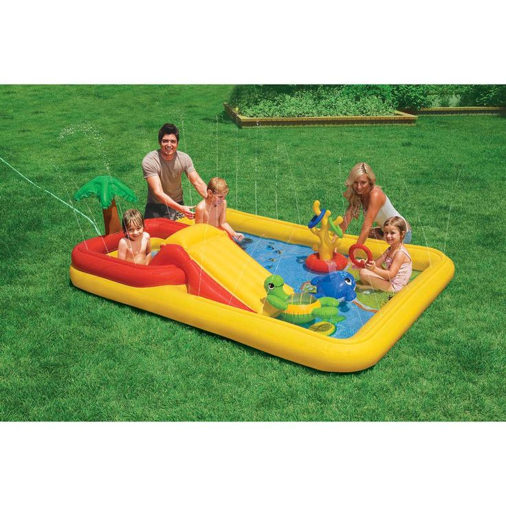 INTEX Pool/Planschbecken Ocean - Playcenter mit Rutsche | babymarkt.de