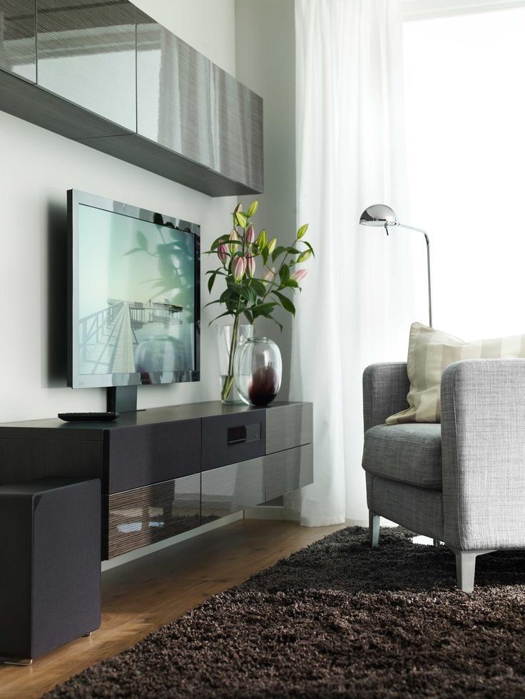 13 besten ikea uppleva clever bilder auf pinterest fernseher ikea und aufbewahrung. Black Bedroom Furniture Sets. Home Design Ideas