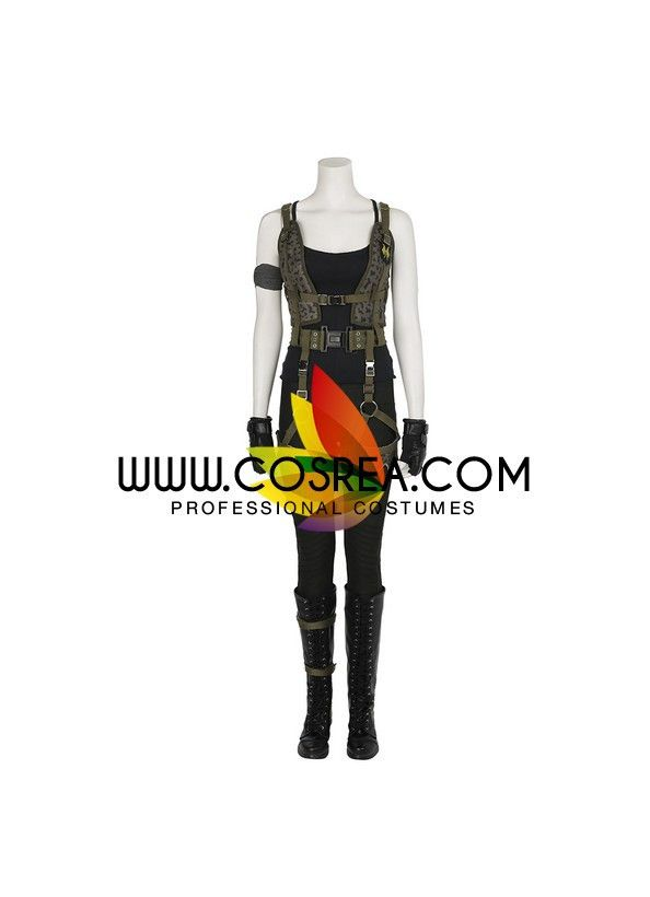 Resident Evil Final Chapter Alice Cosplay Costume