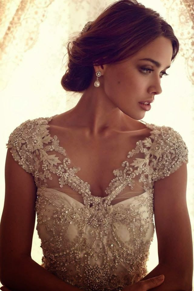 Maravillosos vestidos de novia | Colección Anna Campbell 2014