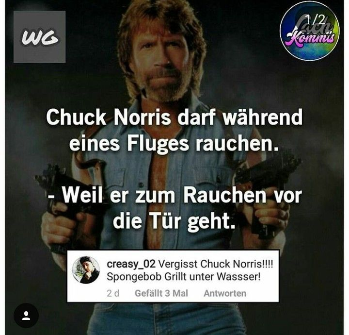 Pin Von Schorschle Sch Auf Chuck Norris Sprüche Chuck