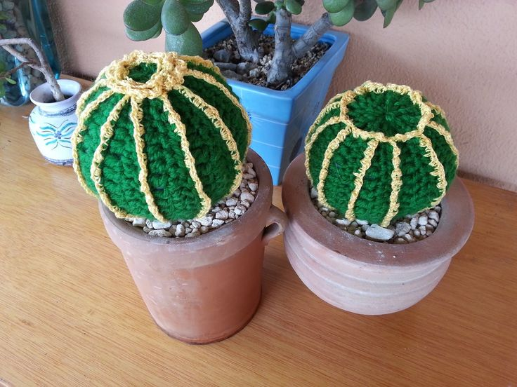 Tutorial crochet/ganchillo, cactus bola.