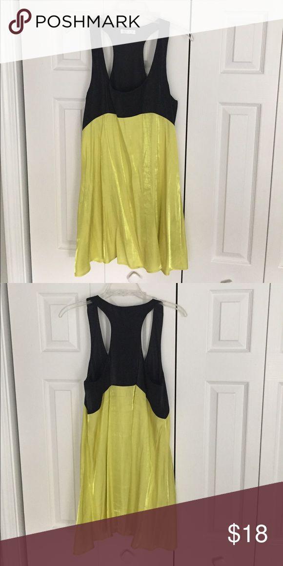 GLAM black and neon yellow dress GLAM black and neon yellow dress GLAM Dresses Mini