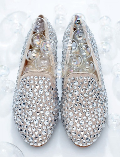 Steven by Steve Madden rhinestone loaver, available March 1 at HSN.com These