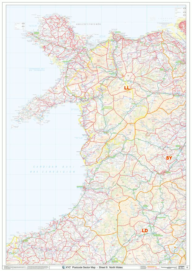 17 Best Images About Postcode Maps On Pinterest  Wall
