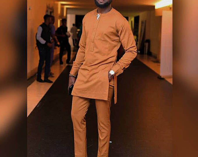 African clothing for men groomsmen wedding suit African men senator prom suit,top and bottom for men,African men/'s wear African prom suit