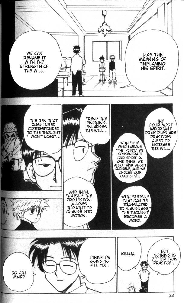 Read manga Hunter x Hunter 046 online in high quality