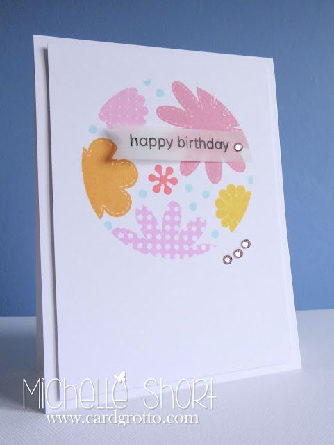 The Card Grotto: Fancy Florals