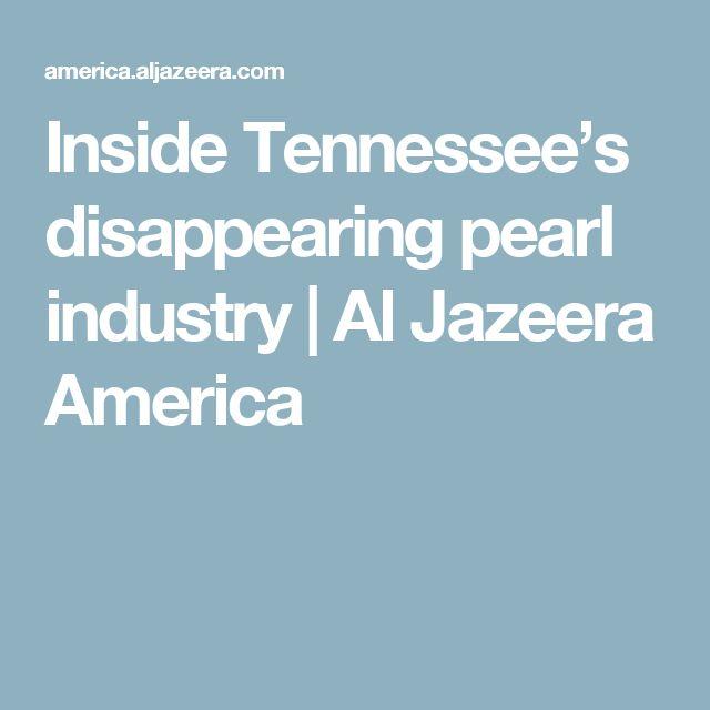 Inside Tennessee's disappearing pearl industry | Al Jazeera America