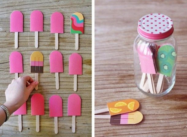 A fun memory game for a kids candy land party