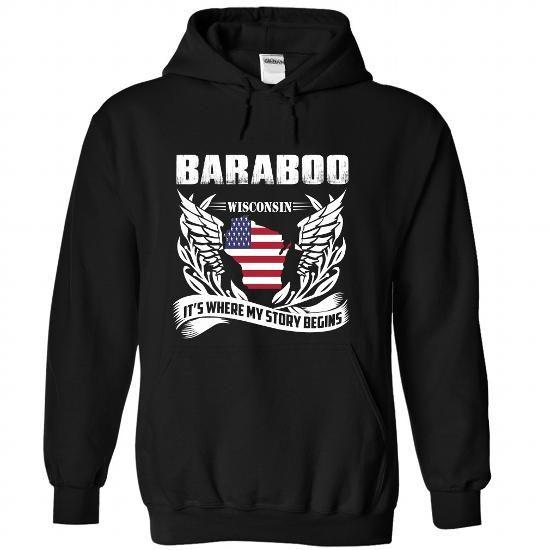 Baraboo - #gift basket #gift table. GET YOURS => https://www.sunfrog.com/LifeStyle/Baraboo-8053-Black-Hoodie.html?68278