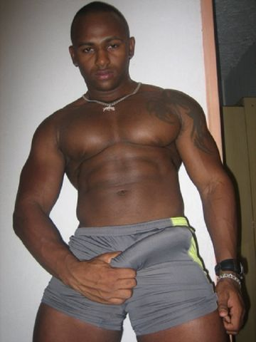 Gay muscle black porn
