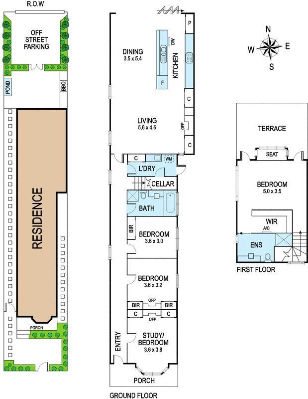 Tiny victorian filigree cottage floor plan.