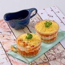 Mari sajikan lasagna singkong untuk santap siang atau malam istimewa. Pasti Anda akan menuai pujian.