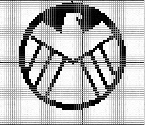 Geekie Crafts: Strategic Hazard Intervention Espionage Logistics Directorat (S.H.I.E.L.D) cross stitch