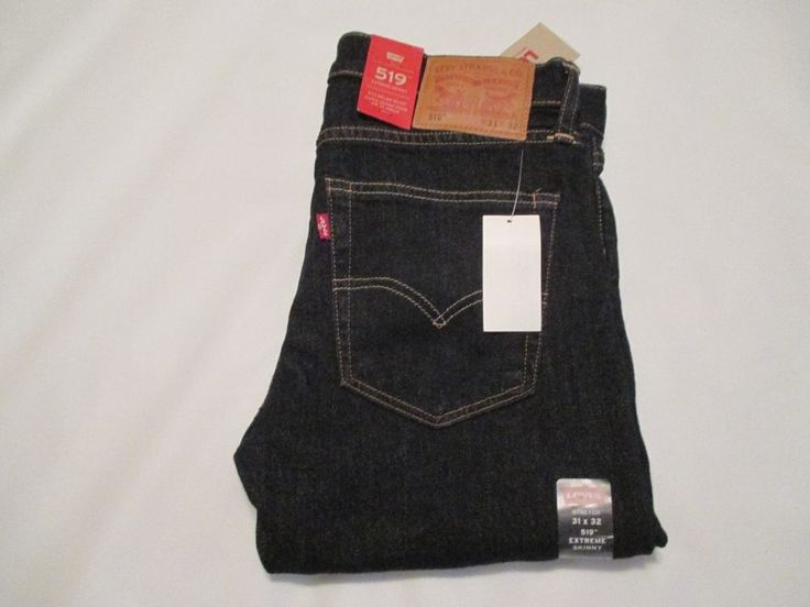 NWT Men's Size 31X32 LEVI'S 519 extreme skinny jeans $69.50 #Levis #SlimSkinny