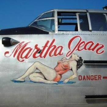 "B-25 ""Georgie's Gal"" originally known as B-25 ""Martha Jean""."