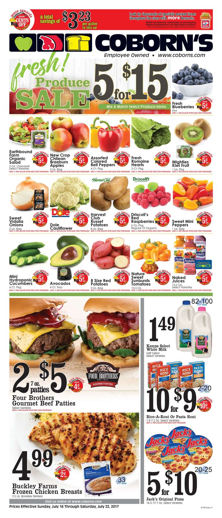 Coborn's Weekly Ad July 16 – 22, 2017 – Coborn's weekly circular becomes mainstream almost once a week but in many cases people the Coborn's ad and perhaps they are quick to throw it out. Checking the ads every week and clipping the coupons which come inside weekly circulars can really be a very rewarding experience. Coborn's regularly includes coupons which can equate his up to 50% off your purchase. This means that you could try out some of the hottest n