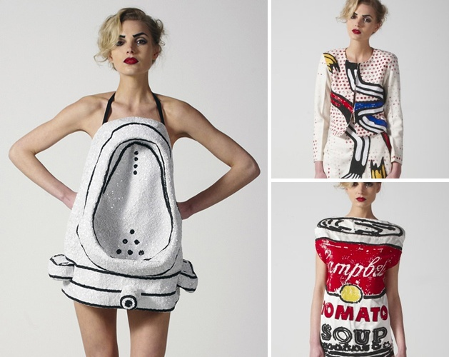 MAKE | Duchamp Urinal Dress
