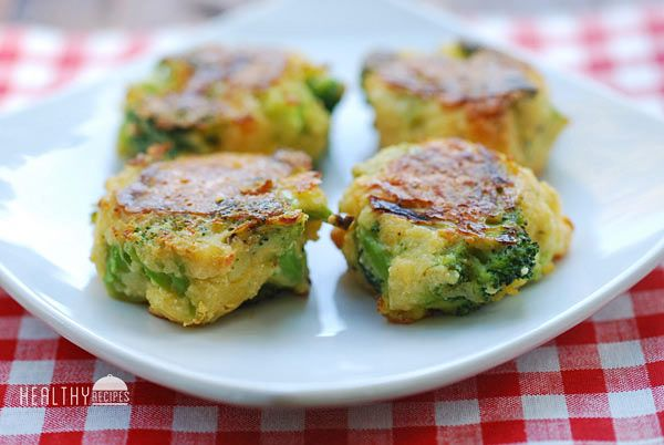 Here we go, something for the broccoli lovers in my house.  Broccoli Fritters | Healthy Recipes.