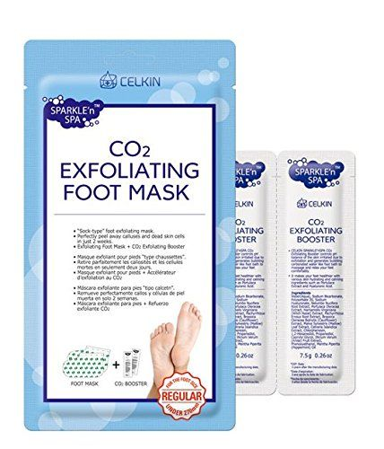 (3 Pairs)CELKIN CO2 Exfoliating Foot Soa Mask - Peels Awa... https://www.amazon.com/dp/B01HCCWGKU/ref=cm_sw_r_pi_dp_DXICxb4S42D77